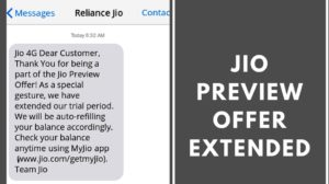 Reliance Jio 4G offer extended till March