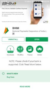 BHIM APP Download for mobile