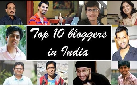 Best 10 bloggers of India
