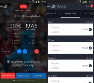 live cricket Apps