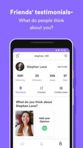 How to add opinion on Wishfie app