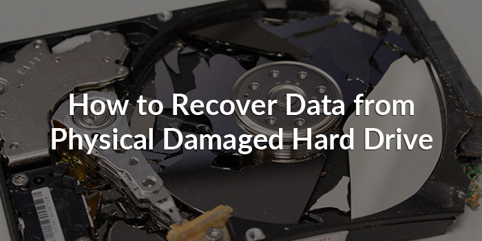 how to recover data from damaged hard disk