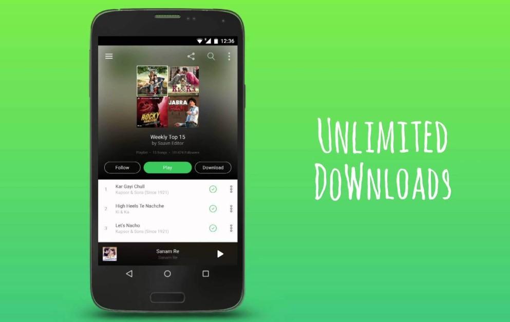 Saavn Pro Apk Download
