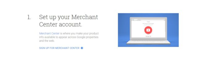 How to Sell products on Google merchant centre